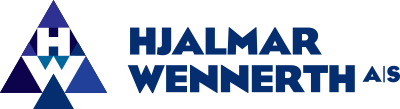 Hjalmar Wennerth / Wennerth wood trading logo